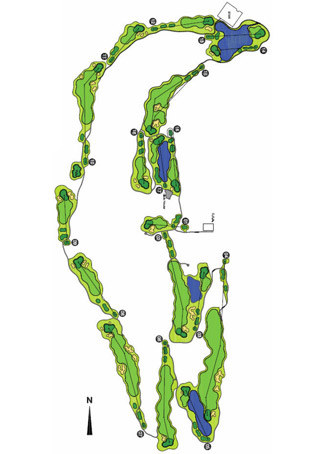 Arrabida Resort Course Map