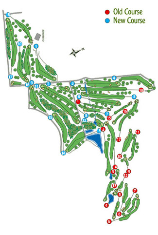 Atalaya Old Golf Course map