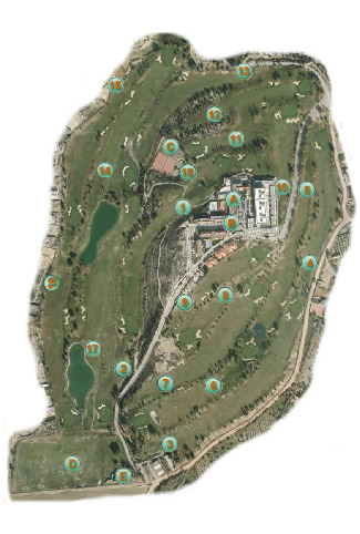 Granada Club Golf Course map