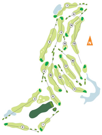 Santo Estevão Course Map