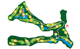La Reserva at Sotogrande Golf Course map