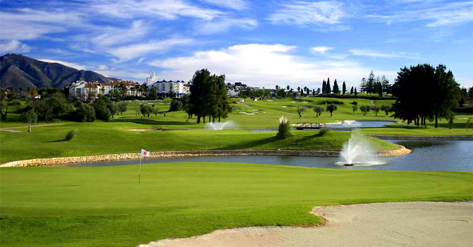 Spain Golf Courses Mijas internatioal Los Olivos Teetimes