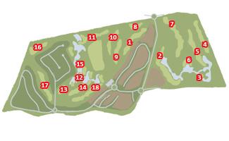 Royal Obidos Course Map