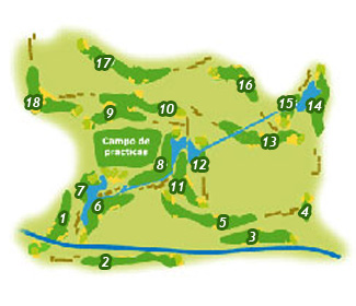 Fuerteventura Golf Course map