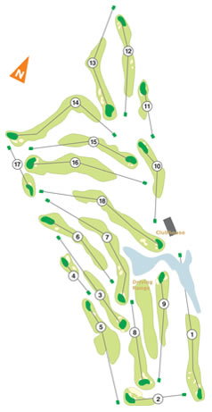 Troia Course Map