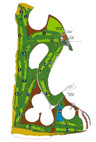 Maspalomas Golf Course map