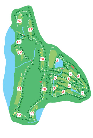 Meloneras Golf Course map