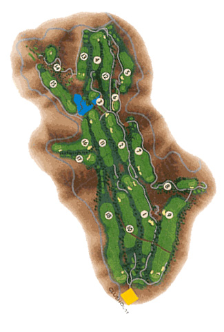 Salobre & Old South Golf Course map