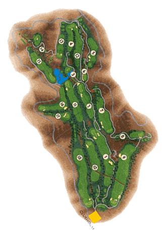 Salobre & New North Golf Course map