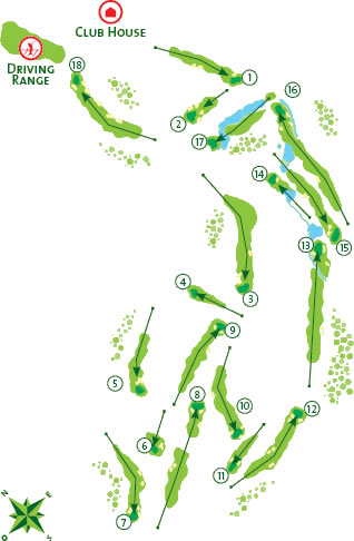 Boavista Course Map
