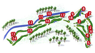 Canyamel Golf Course map
