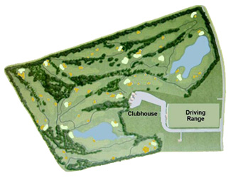 Park Puntiró Golf Course map