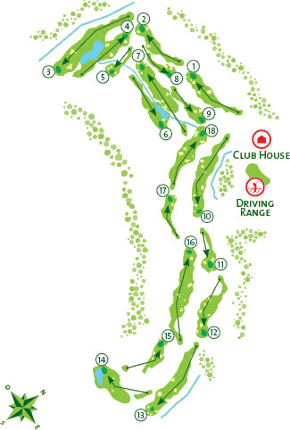 Course Map Morgado Golf Course