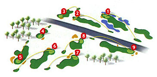 Santa Ponsa III Golf Course map