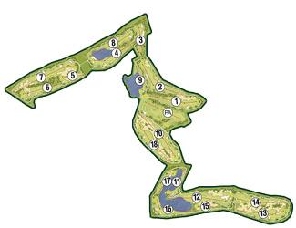 La Torre Golf Course map