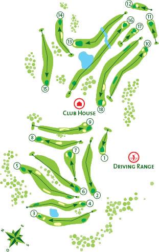 Alto Course Map
