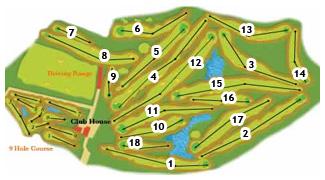 El Plantio Golf Course map