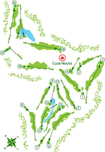 Course Map Gramacho Golf Course
