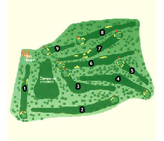Manises Golf Course map