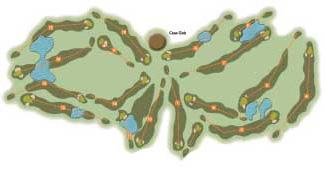 La Roqueta Golf Course map