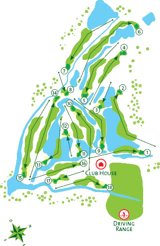 Course Map Salgados Golf Course