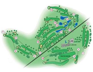 Terramar Golf Course map