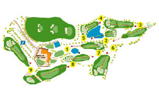 Can Cuyás Pitch & Putt Golf Course map