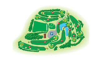 Serrat del Bruc Golf Course map