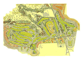 Torremirona Golf Course map