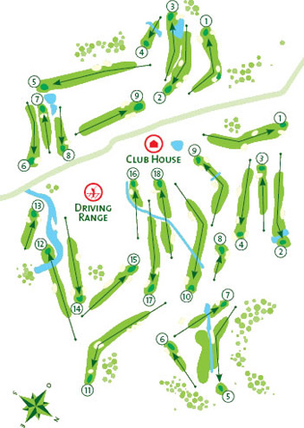 Course Map Penina Academy (Pitch & Putt)
