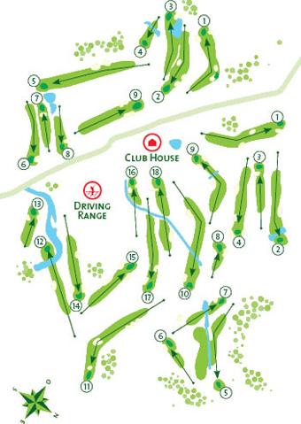 Penina Academy (Pitch & Putt) Course Map