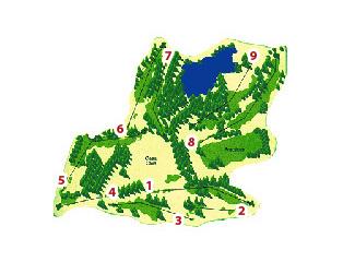 Raimat Golf Course map