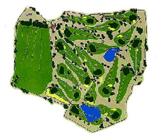 El Vendrell Center Golf Course map