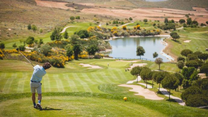 Portugal Golf Retamares Casino Club Golf Course Three Teetimes