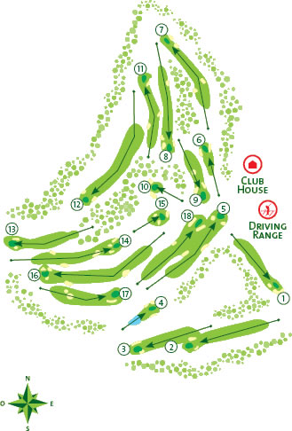 Vilamoura Old Course Course Map