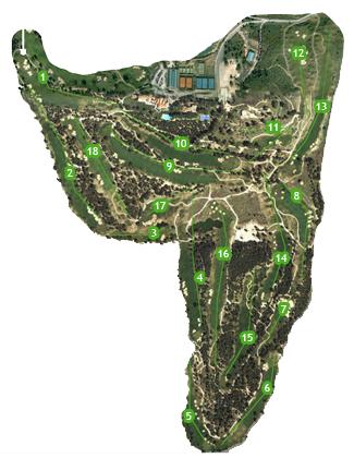 Real Sociedad Hipica Española Club de Campo Golf Course map