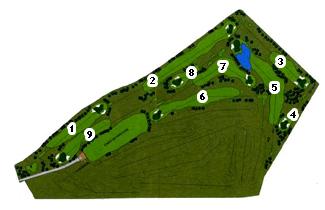 Guara Golf Course map