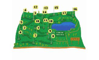 Izki Urturi Golf Course map