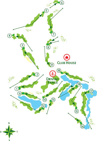 Vilamoura Victoria Course Map