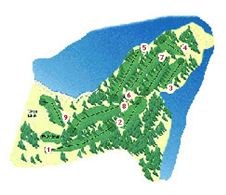 Mataleñas Golf Course map