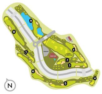 Señorío de Illescas Golf Course map