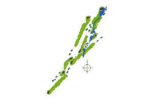 Villarias Golf Course map