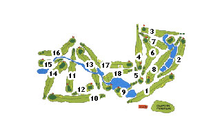 Lerma Golf Course map