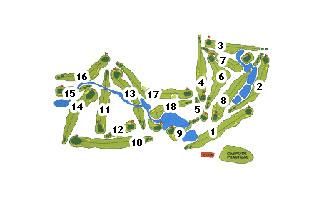 Lerma Golf Course map