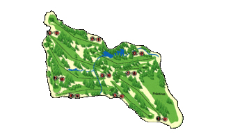 Merida Don Tello Golf Course map