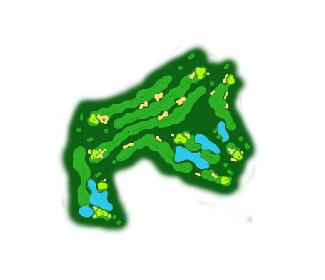 Campomar Golf Course map