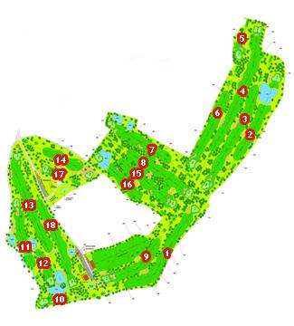 Hercules Golf Course map