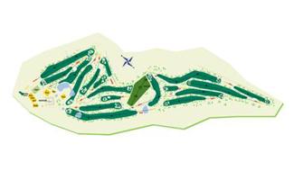 Real Aero Club de Santiago Golf Course map