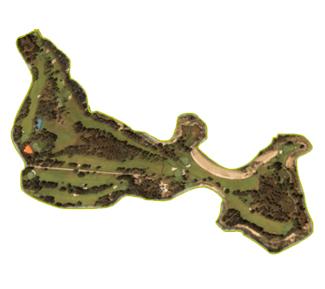 La Toja Golf Course map