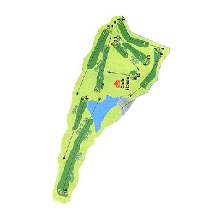Real Aero Club de Vigo Golf Course map